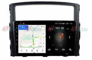 Штатная магнитола VAYCAR 09L для Mitsubishi Pajero IV 2006-2019 на Android 8.1