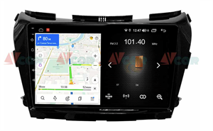 Штатная магнитола VAYCAR 10L для Nissan Murano III (Z52) 2015-2021 на Android 8.1