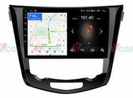 Штатная магнитола VAYCAR 10L для Nissan Qashqai II, X-Trail III 2014-2019 на Android 8.1