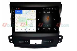Штатная магнитола VAYCAR 09L для Peugeot 4007 2007-2012 на Android 8.1