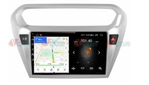 Штатная магнитола VAYCAR 09L для Peugeot 301 I 2012-2018 на Android 8.1
