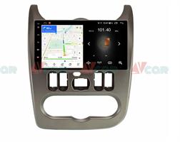 Штатная магнитола VAYCAR 09L для Renault Logan 2010-2013, Sandero I 2009-2014 на Android 8.1