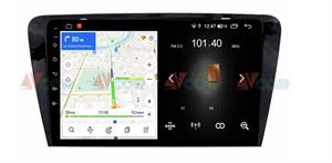 Штатная магнитола VAYCAR 10L для Skoda Octavia III (A7) 2013-2018 на Android 8.1