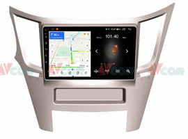 Штатная магнитола VAYCAR 09L для Subaru Legacy V, Outback IV 2009-2014 на Android 8.1