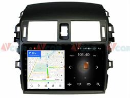 Штатная магнитола VAYCAR 09L для Toyota Corolla X (E140, E150) 2006-2013 на Android 8.1