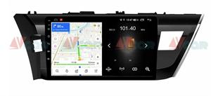 Штатная магнитола VAYCAR 10L для Toyota Corolla XI 2013-2015 на Android 8.1