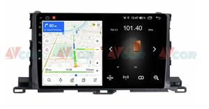 Штатная магнитола VAYCAR 10L для Toyota Highlander (U50) 2014-2018 на Android 8.1