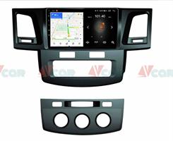 Штатная магнитола VAYCAR 09L для Toyota Hilux VII 2011-2015 на Android 8.1
