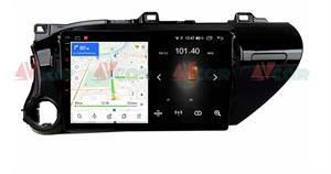 Штатная магнитола VAYCAR 10L для Toyota Hilux VIII 2015-2020 на Android 8.1