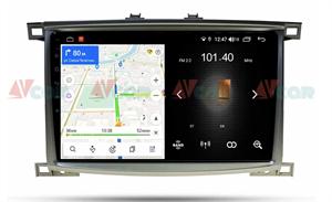Штатная магнитола VAYCAR 10L для Toyota Land Cruiser 100 2002-2007 на Android 8.1