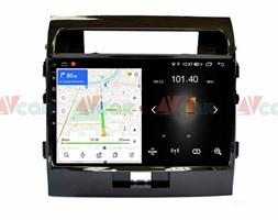Штатная магнитола VAYCAR 10L для Toyota Land Cruiser 200 2007-2015 на Android 8.1