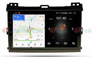 Штатная магнитола VAYCAR 09L для Toyota Land Cruiser Prado 120 2002-2009 на Android 8.1