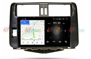 Штатная магнитола VAYCAR 09L для Toyota Land Cruiser Prado 150 2009-2013 на Android 8.1