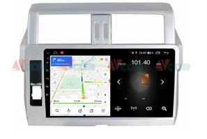 Штатная магнитола VAYCAR 10L для Toyota Land Cruiser Prado 150 2013-2017 на Android 8.1