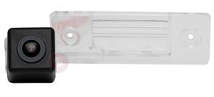 Камера заднего вида RedPower VW345 AHD для Skoda Fabia 2007-2013, Yeti 2009-2013, Volkswagen Tiguan 2007-2011, Touareg 2002-2010