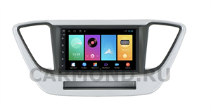 Штатная магнитола FarCar для Hyundai Solaris 2017-2020 на Android 8.1 (D811-RHY-N55)