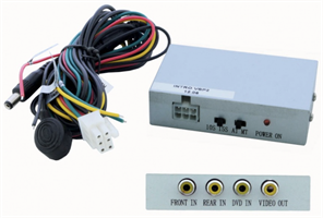 Сплиттер (видеокоммутатор 2-х камер) INCAR VSP-2