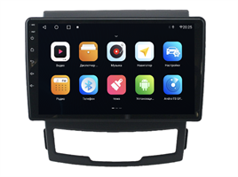 Parafar для SsangYong Actyon II 2010-2013 на Android 10.0 (PF159AHD-Low)