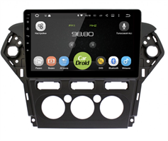 Штатная магнитола Roximo CarDroid RD-1713FM для Ford Mondeo IV 2010-2015 на Android 10.0 (кондиционер)