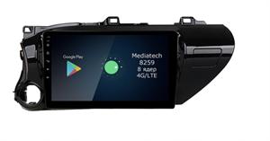Штатная магнитола Roximo 4G RX-1119 для Toyota Hilux an120, 2015+ на Android 10.0