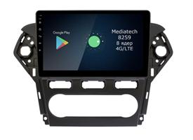 Штатная магнитола Roximo 4G RX-1713A для Ford Mondeo IV 2010-2015 на Android 10.0 (климат-контроль)