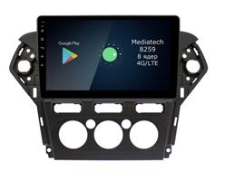 Штатная магнитола Roximo 4G RX-1713M для Ford Mondeo IV 2010-2015 на Android 10.0 (кондиционер)