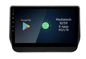 Штатная магнитола Roximo 4G RX-2027 для Hyundai H1 2019 - 2020 на Android 10.0
