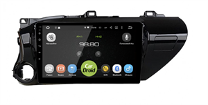 Штатная магнитола Roximo CarDroid RD-1119F для Toyota Hilux an120, 2015+ на Android 10.0 DSP