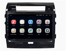 Parafar для Toyota Land Cruiser 200 2007-2015 на Android 9.1 (PF381Lite-Low)