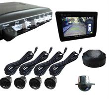 Парковочный радар с камерой в комплекте (Видеопарктроник) Roximo RPV-001+