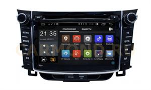 Штатная магнитола Hyundai i30 II 2012-2017 LeTrun 2674 Android 8.1 7 дюймов