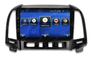 IQ NAVI TS9-1603CFHD с DSP + 4G SIM + CarPlay для Hyundai Santa Fe II (2005-2012) на Android 8.1.0