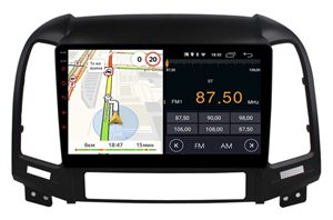 Parafar для Hyundai Santa Fe II 2005-2012 на Android 10.0 (PF208LTX)