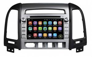 CarMedia KD-7024-P6 для Hyundai Santa Fe 2005-2012 (4 отверстия под кнопки) на Android 9.0