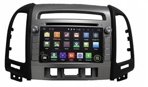 CarMedia KD-7021-P6 для Hyundai Santa Fe 2006-2010 (3 отверстия под кнопки) на Android 9.0