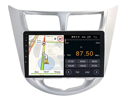 Parafar для Hyundai Solaris I 2011-2017 на Android 10.0 (PF067LTX)