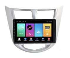 Штатная магнитола FarCar D067M для Hyundai Solaris I 2011-2017 на Android 8.1