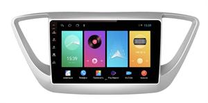 Штатная магнитола FarCar D766M для Hyundai Solaris II 2017-2020 на Android 8.1