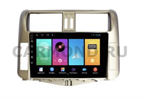 Штатная магнитола FarCar D065M для Toyota Land Cruiser Prado 150 2009-2013 на Android 8.1 цвет-бронза