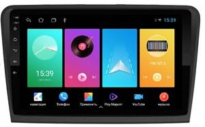 Штатная магнитола FarCar D306M для Skoda Superb II (B6) 2008-2015 на Android 8.1