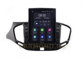 CarMedia OL-9061-2D-HL для Lada Vesta 2015-2021 на Android 10.0
