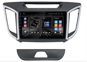 """INCAR DTA2-2411c для Hyundai Creta 2016-2021 + поддержка оригинальной камеры заднего вида (не идёт в комплекте) DSP 9"""" на Android 10.0"""