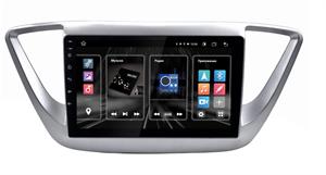 "INCAR DTA2-2402 для Hyundai Solaris II 2017-2020 DSP, 9"" на Android 10.0"
