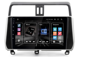 "INCAR DTA2-2215 для Toyota Land Cruiser Prado 150 2021 DSP, 10"" на Android 10.0"