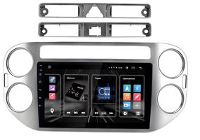 """INCAR DTA2-8605 для Volkswagen Tiguan 2007-2016 DSP, 9"""" на Android 10.0 silver"""