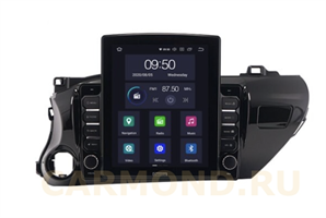 CarMedia OL-1686-2D-HL TESLA для Toyota Hilux VIII 2015-2020 на Android 10.0