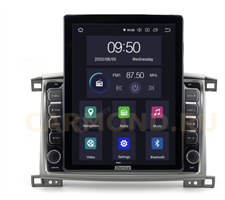 CarMedia OL-1698-2D-HL TESLA для Toyota Land Cruiser 100 2002-2008 на Android 10.0