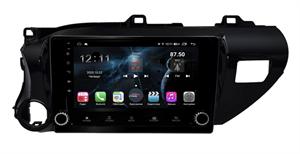 Farcar H588/1077RB (S400) с DSP + 4G SIM для Toyota Hilux 2015-2020 на Android 10.0 с кнопками
