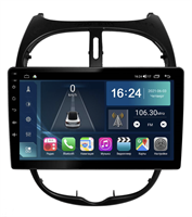 Farcar TG778M (S400) с DSP + 4G SIM для Peugeot  206 1998-2008 на Android 10.0