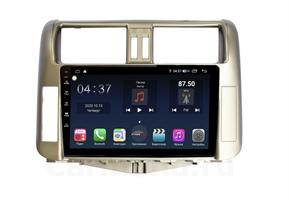 Farcar TG065M (S400) с DSP + 4G SIM для Toyota Land Cruiser Prado 150 2009-2013 (цвет бронза) на Android 10.0